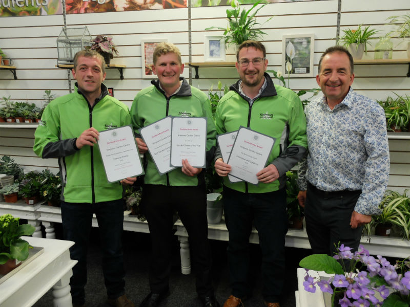 The team from Simpsons Garden Centre