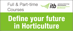 ITB Launch New Part-time Level 6 Higher Certificate in Science in Professional Horticulture Practice